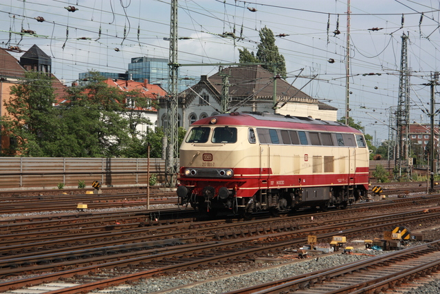217 001-7 Hannover Hbf