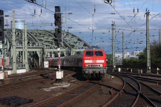 218 151-9 Köln Hbf