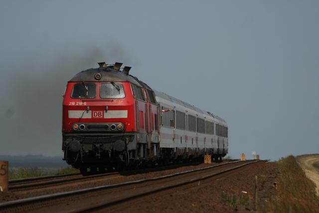 218 218-6 + 218 xxx-x Hindenburgdamm