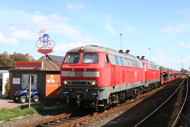 218 319-2 218 319-2 + 218 362-2 Westerland (Sylt)
