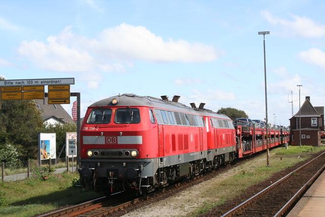 218 319-2 + 218 362-2 Westerland (Sylt)