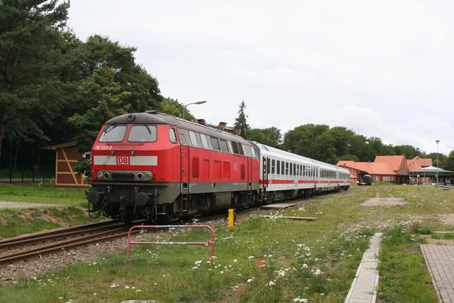 218 333-3 Abgestellt Seebad Heringsdorf