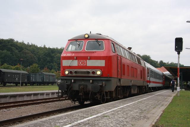 218 366-3 UBB 24766 Seebad Heringsdorf