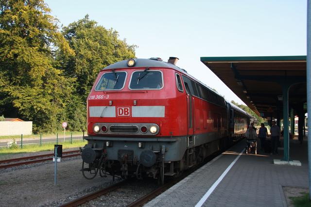 218 366-3 UBB 24873 Seebad Heringsdorf