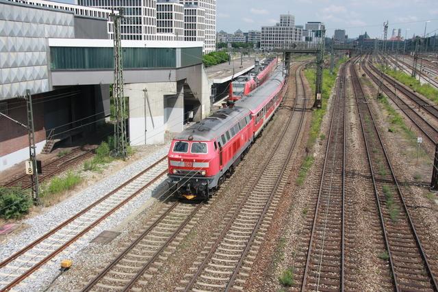 218 386-9 München Donnersbergerbrücke