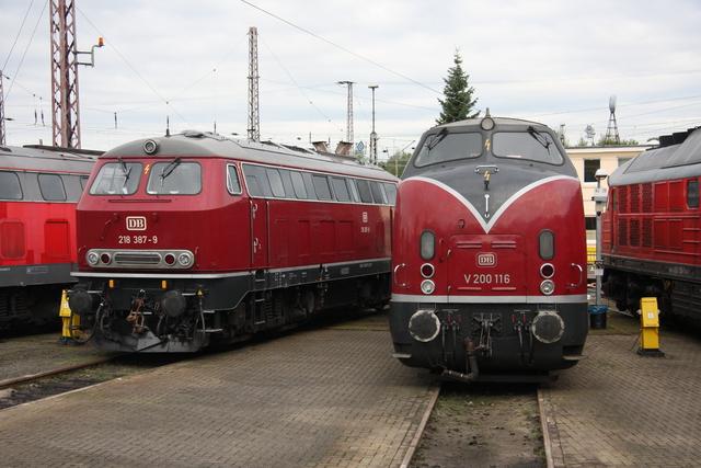 218 387-9 + V200 116 BW Osnabrück