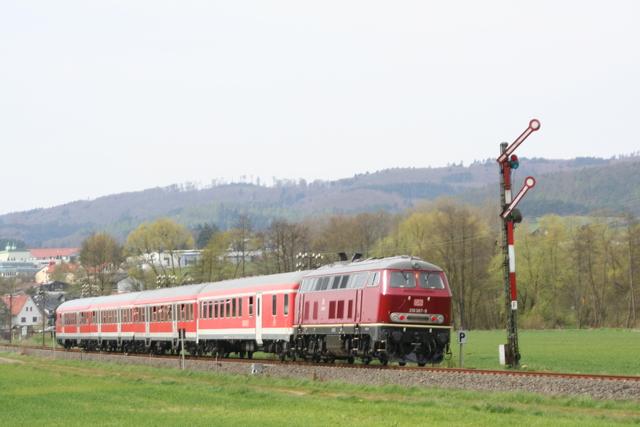 218 397-9 bei Friedensdorf