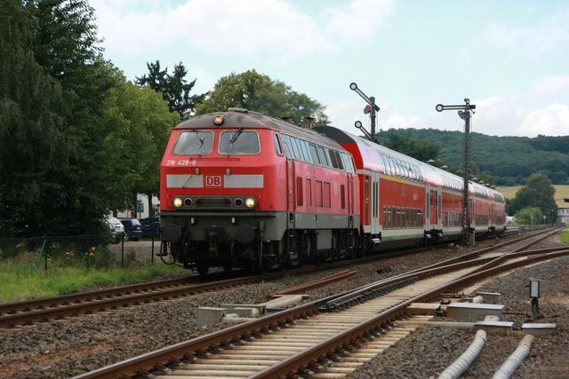 218 429-9 Ausfahrt Glauburg-Stockheim