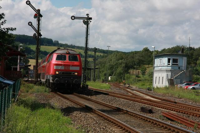218 442-2 Ausfahrt Glauburg-Stockhei