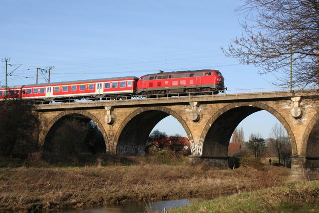 218 455-4 Hildesheim Innerstebrücke