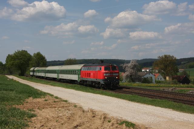 218 461-2 bei Sulzach-Rosenberg RE 453
