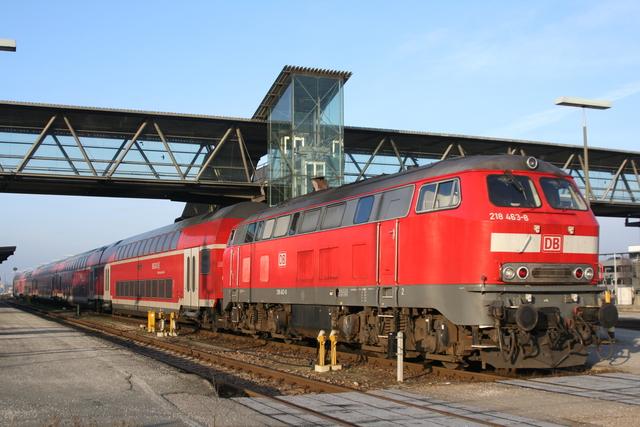 218 463-8 Mühldorf (Oberbay)