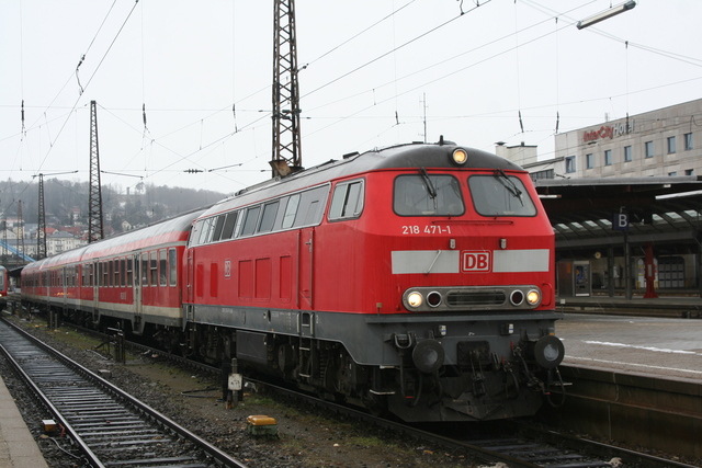 218 471-1 Ulm hbf