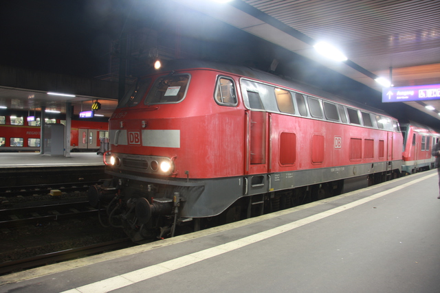 218 473-7 RE 14076 Hannover Hbf