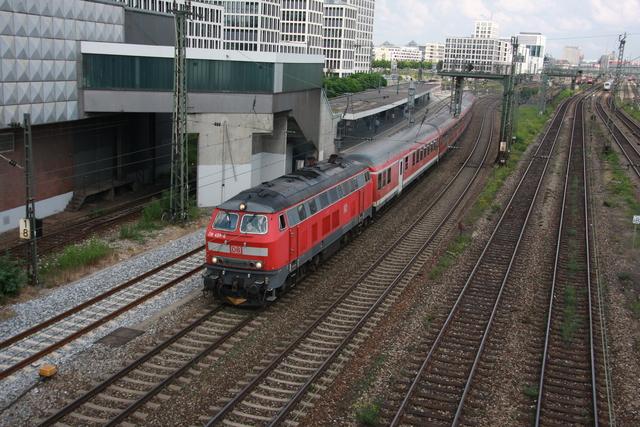 218 489-6 München Donnersbergerbrücke