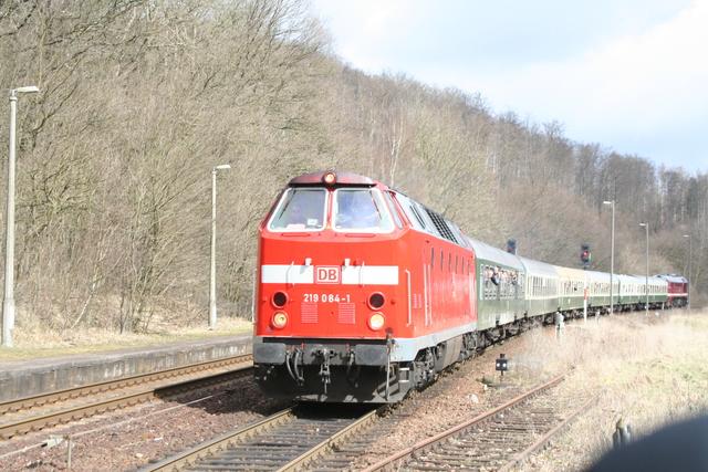 219 084-1 + 220 295-0 Förtha(Eisenach)