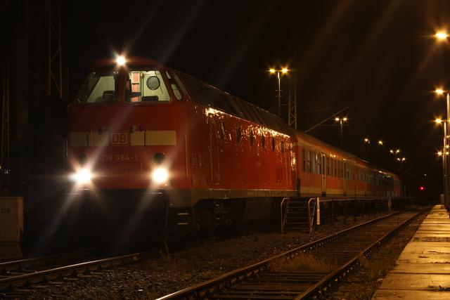 219 084-1 Abgestellt Leinefelde