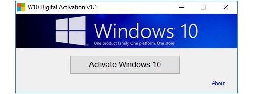 Windows 10 Digital Activation 1.3.6