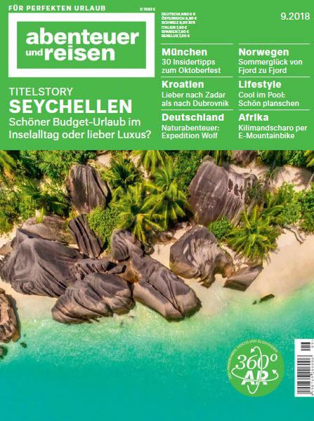 Abenteuer und Reisen Magazin September No 09 2018