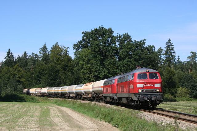 225 030-6 Railion + 225 002-5 m Böselhäusl