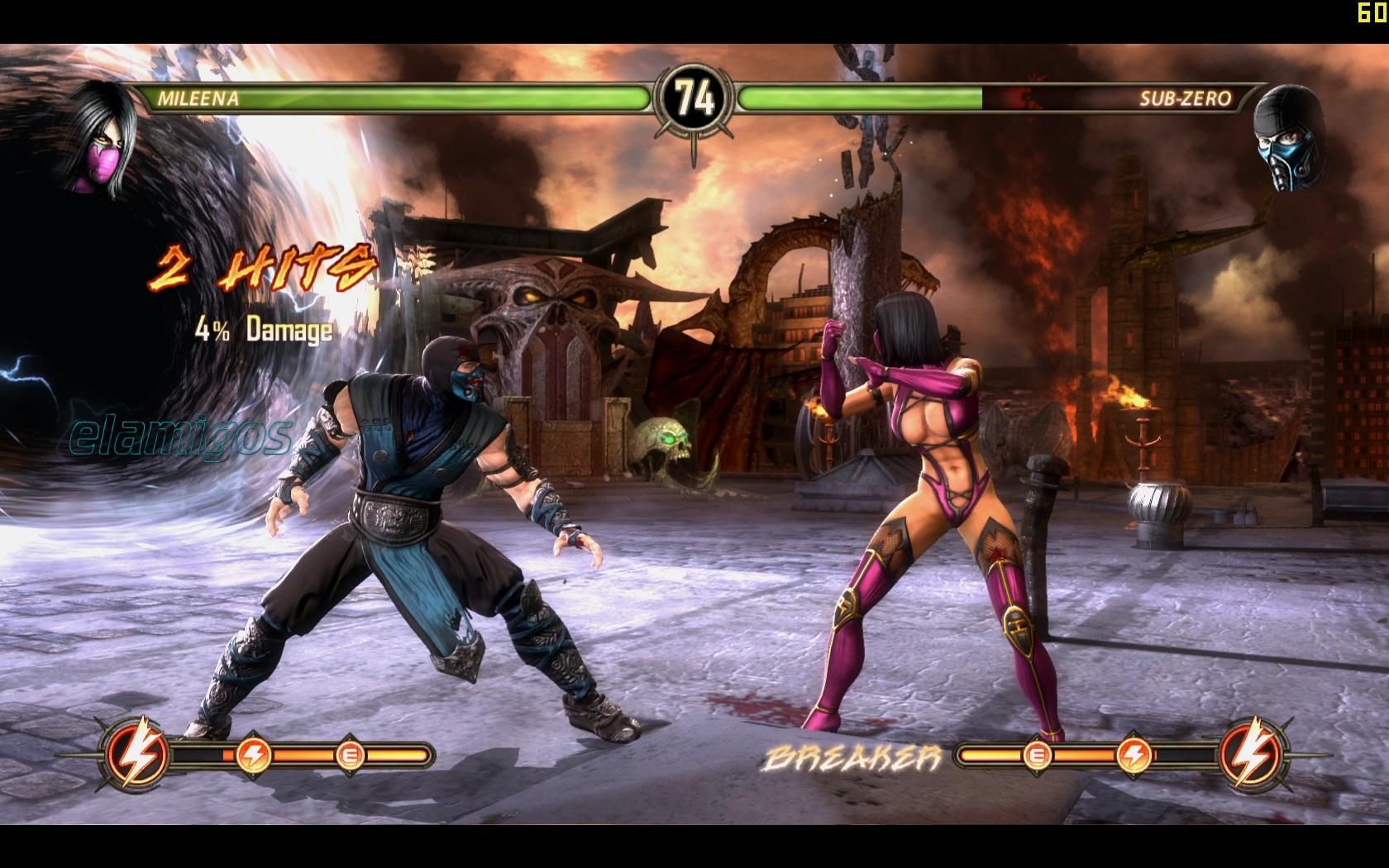 Mortal Kombat Komplete Finishing Moves
