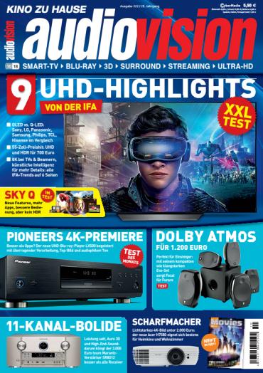Audiovision Magazin (Kino zu Hause) Oktober No 10 2018