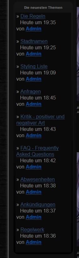 [phpBB2]Adminpanel nicht richtig aufrufbar, Neuste Themen gefreezt, etc. 22xouvm