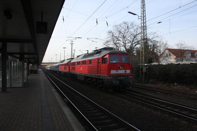 232 255-0 + 232 254-3 Castorf Wunstorf