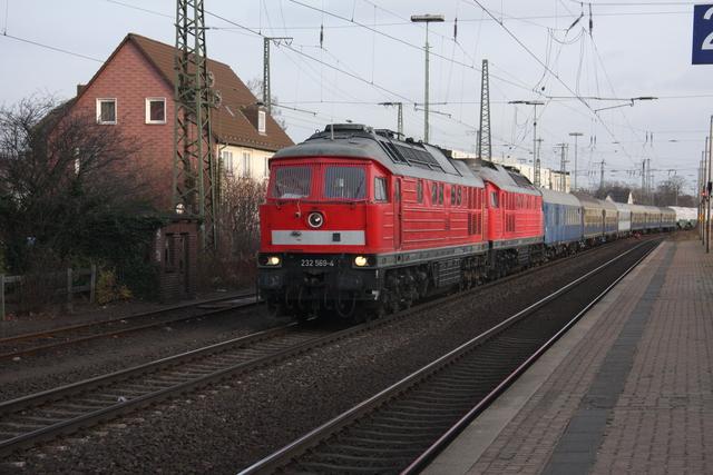 232 569-4 + 232 259-2 Castorf Wunstorf