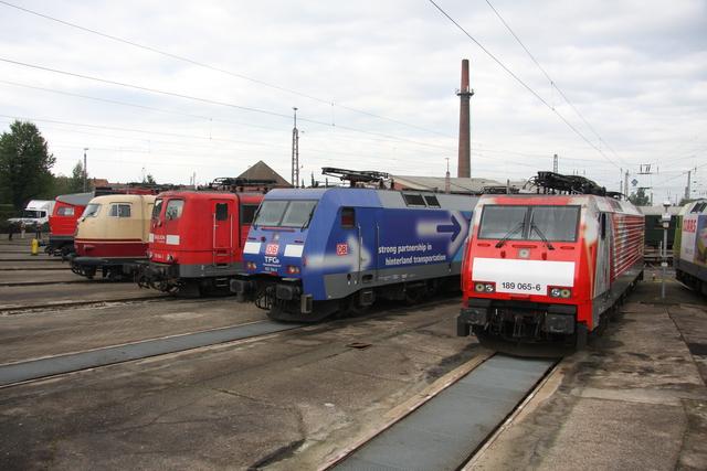 233 525-5 + 103 222-2 + 151 164-1 + 152 134-3 + 189 065-6 BW Osnabrück
