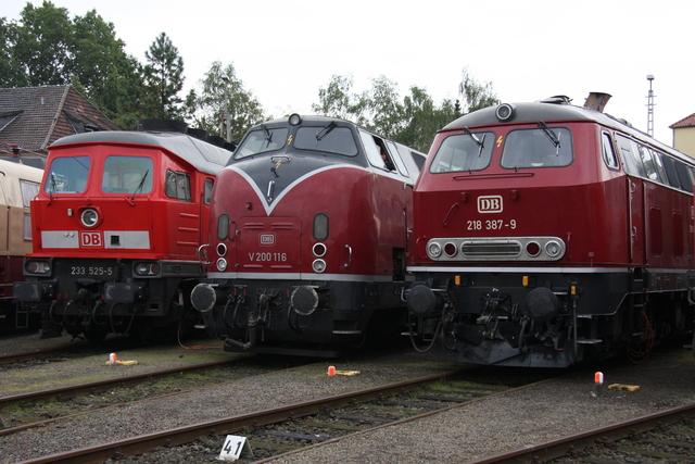 233 525-5 + V200 116+ 218 387-9 BW Osnabrück