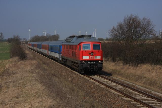 234 242-6 bei Radekow