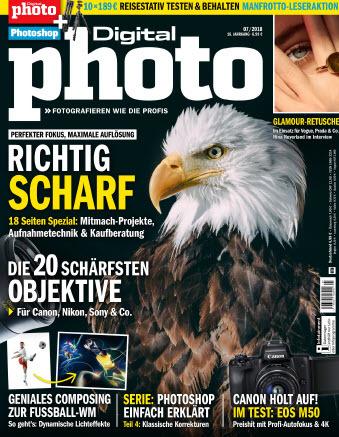 Digital Photo Magazin Juli No 07 2018