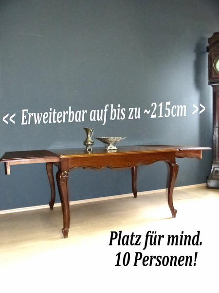 Barock esstisch wien 1920 kulissentisch antik esszimmer for Esstisch edel