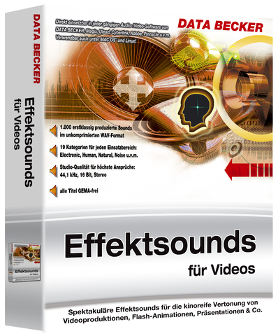 : Data Becker Effektsounds für Videos