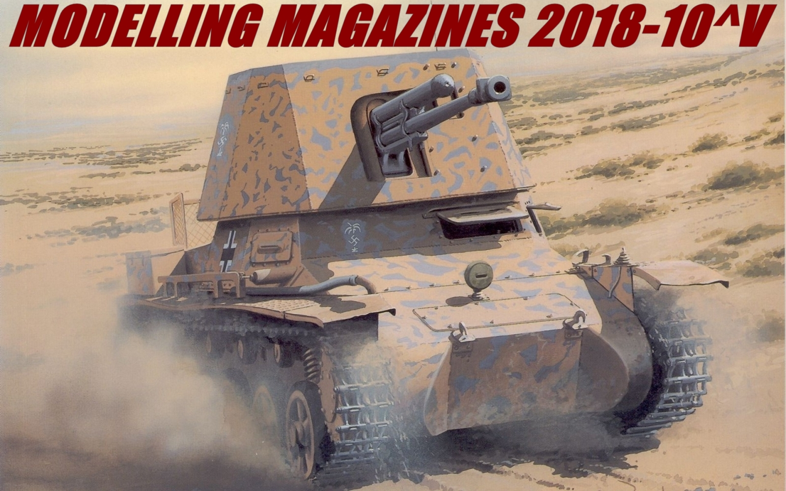 Modelling Magazines 2018-10