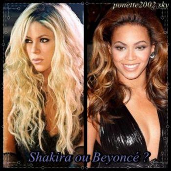 SHAKIRA VS BEYONCE