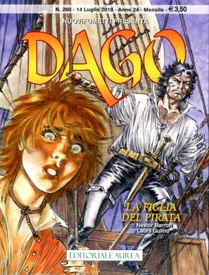 Dago 260 – Anno 24 N. 07 – La Figlia del Pirata (07/2018)