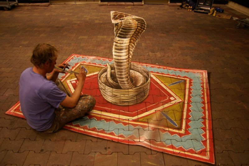 Sztuka uliczna w 3D #2 14
