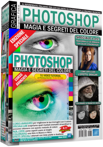 Grafica Digital Foto n.77 - VideoCorso Photoshop Magia e Segreti del Colore - ITA