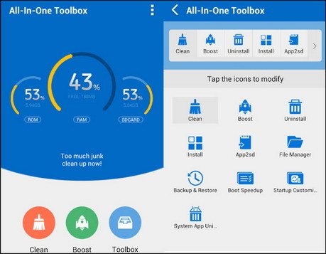 Android  All-In-One Toolbox (Cleaner) Pro 7.2.4 + Plugins (29 Tools)