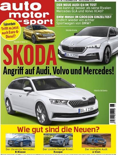 Auto Motor und Sport Magazin Dezember No 26 2018