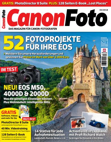 Canon Foto Magazin April Mai No 03 2018