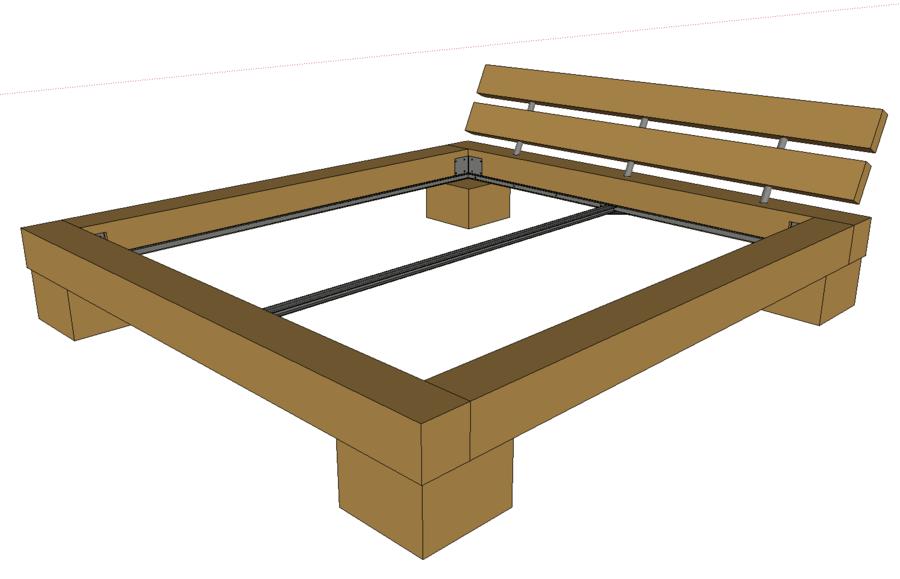 Bett eigenbau die neuesten innenarchitekturideen for Bett eigenbau