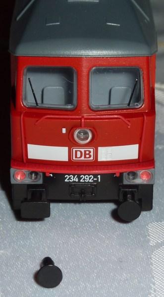 Trix Startpackung 21524 BR 234 mit IC Wagen 2diu2k