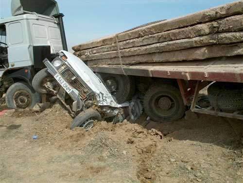 Wypadki ciężarówek 48