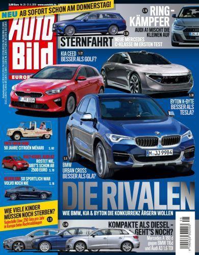 Auto Bild Magazin Juni  No 25 2018