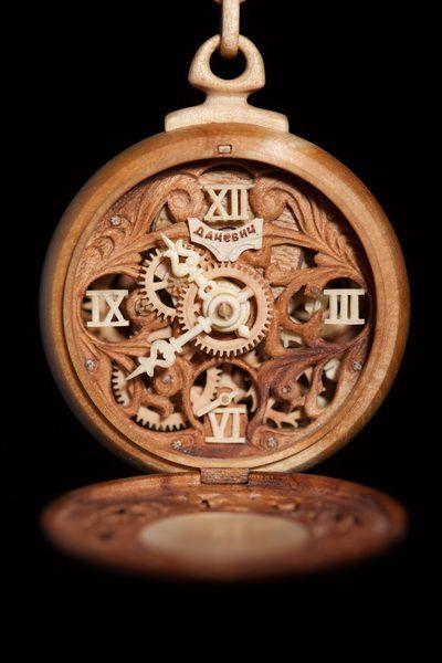 Zegarki z drewna 6