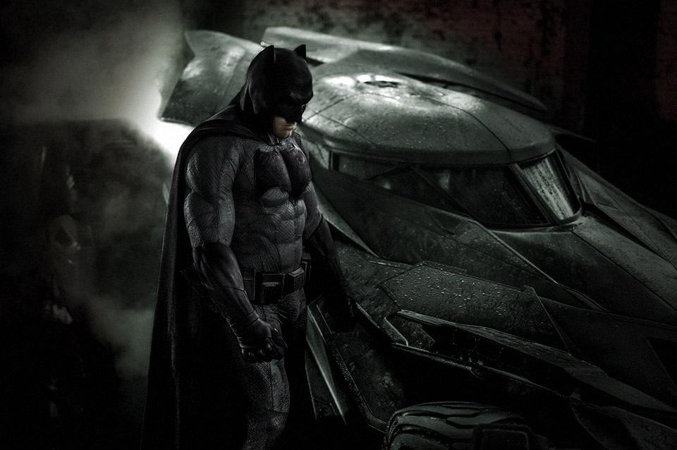 Batsuit Revealed Ben Affleck  IMG