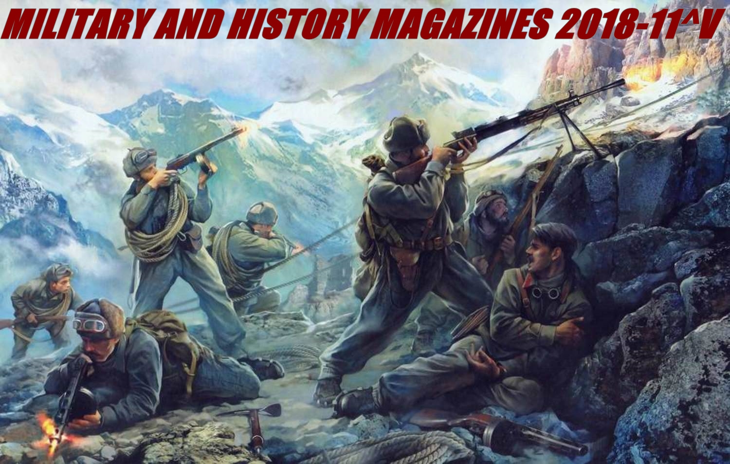 Military and History Magazines 2018-11